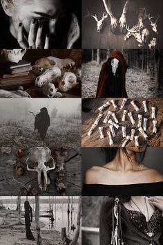 bone witch aesthetic (more here)