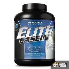 Dymatize Elite caseína fornece 24 gramas de proteína de digestão lenta por porção. Dymatize 100% Casein é projetado especificamente para ser digerida mais lentamente em seu corpo do que outras fontes de libertação rápida de proteína, tais como whey protein e albumina. Esta digestão lenta é resultado da sensibilidade do pH natural da proteína caseína no aparelho digestivo.