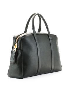 TOM FORD Buckley Leather Duffel Bag, Small $3,510.00