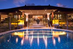 Grande Astor Suite Infinity Pool at The St. Regis Bali Resort