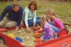 video  building a  sandbox /diy
