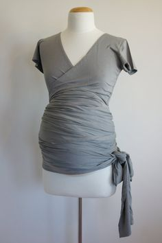 Maternity blouse. Even love the color--good to have for when it happens again