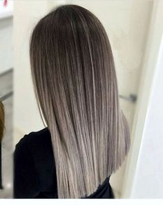 Golden Blonde Balayage for Straight Hair - Honey Blonde Hair Inspiration - The Trending Hairstyle Brown Ombre Hair, Brown Hair Colors, Hombre Hair Colors, Trendy Hair Colors, Ash Ombre, Hair Color Balayage, Hair Highlights, Color Highlights, Ash Brown Hair With Highlights