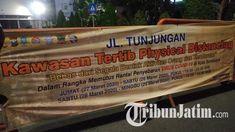 Physical Distancing untuk Antisipasi Covid-19, Jalan Tunjungan dan Darmo Ditutup, Cek Jadwalnya! Surabaya