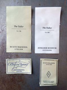 Woven labels en tags