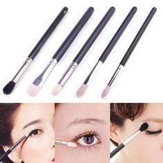 Super Beauty Blending Eyeshadow Powder Makeup Eye Shader Brush Cosmetic Make Up Tools #Affiliate