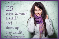 25 ways to dress up any outfit with a scarf