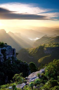 the blyde river canyon, south africa. most amazing places to visit in south africa.