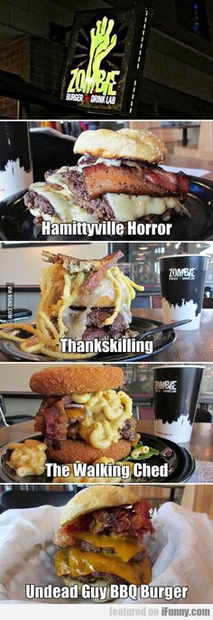 Zombie Burger And Drink Lab! I want to go there!!!