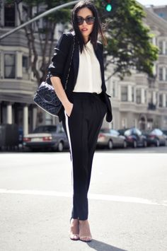 9to5Chic: Track Pants