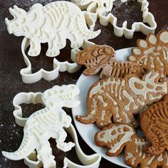 Dino cookie cutters.