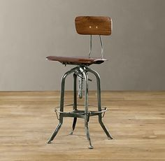 Vintage Toledo Chair eclectic bar stools and counter stools  Reproduction Restoration Hardware