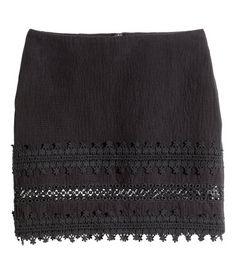 c3b9c3c47a6e19  10 - Short skirt in slightly textured