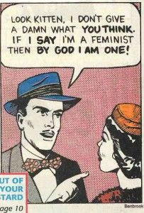 Old-timey feminist cartoons n' such!