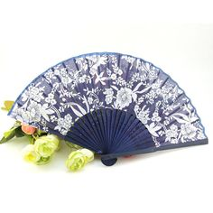 Wedding Fans Wooden Fans Chinese Silk Flower Fans Bridal Party Fans Accessories Promotional Handmade Craftwork Folding Hand Fan From Marrysa, $1.09 | Dhgate.Com