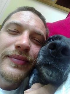 Tom Hardy and Dogs
