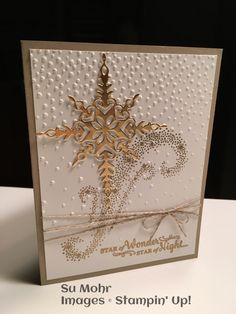 New diy christmas star xmas cards 45 ideas Christmas Cards 2017, Homemade Christmas Cards, Noel Christmas, Stampin Up Christmas, Homemade Cards, Handmade Christmas, Holiday Cards, Winter Karten, Snowflake Cards