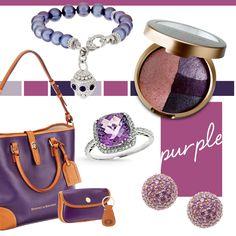 We're crushing on all things #purple!