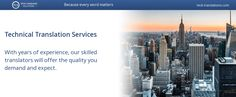 Technical Translation Services – manuals, data sheets, safety documentation and many more