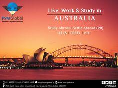 Live Work & Study In #Australia - PSM Global  #PSMGlobal   #Royalacademy  #Student #visa  #study #studyabroad  #education #TRA