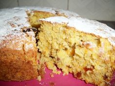 YUMMY TUMMY: Simple Carrot Cake with Banana & Orange - No Butter