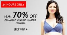 Huge discount on Internation Lingerie Flat 70% Off | Zordaar.com