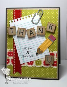 teachers day handmade cards ideas
