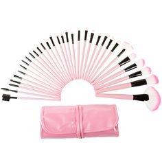 Everyday Home 32 Piece Makeup Brush Set with Pink Pouch ** More info could be found at the image url. (Note:Amazon affiliate link)