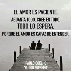 """Amar no es solamente querer, es sobre todo comprender ..."""