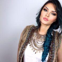 Evon Wahab @makeupbyevon Fishtail with wav...Instagram photo | Websta (Webstagram)