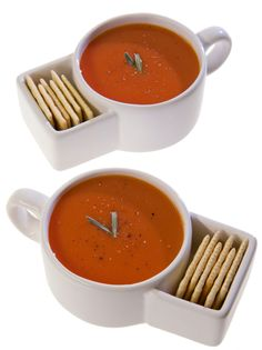 Soup & Crackers Mugs