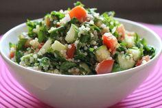 Quinoa Tabouli Salad #realfoodrecipes