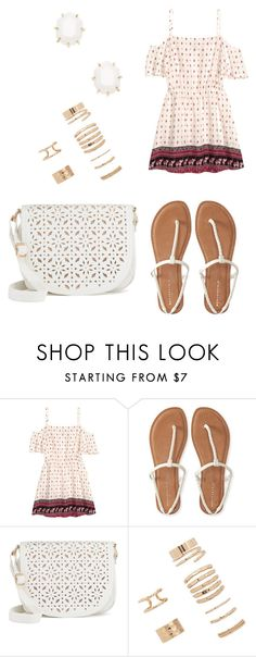 """Senza titolo #83"" by erica-criss ❤ liked on Polyvore featuring H&M, Aéropostale, Under One Sky, Forever 21 and Kendra Scott"