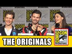 The Originals Comic Con 2015 Panel: Danielle Campbell, Joseph Morgan, Daniel Gillies, Phoebe Tonkin - YouTube