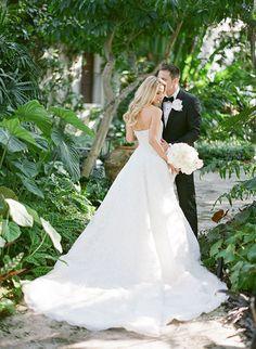 Glamorous Palm Beach Wedding   Brides.com