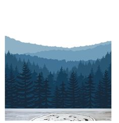 Items similar to Removable Peel and Stick Wallpaper, Self-Adhesive Wall Mural, Nursery Wall Decor, Ombre Mountain Forest Trees, ID# on Etsy Triple Goddess Symbol, Triple Moon Goddess, Mountain Silhouette, Mountain Mural, Moon Dreamcatcher, Nursery Wall Murals, Moon Decor, Fabric Wallpaper, Pastel Wallpaper