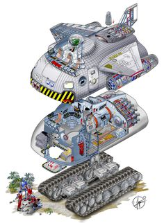 http://paul-muad-dib.deviantart.com/art/flying-Tank-Typ-Shift-EX-602-132345936