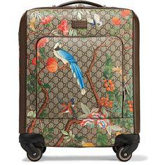 5a5b6a285ceb Shop Gucci Tian GG Supreme carry-on case.