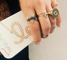 Sydney Evan rings.