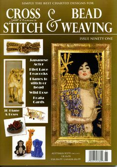 Jill Oxton's Cross Stitch & Bead Weaving Magazine, Issue 91. Available from Australian Needle Arts