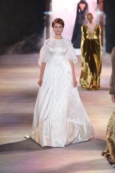 Ulyana Sergeenko Paris Couture Fashion Week | Fall 2013