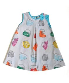 This White Purses Inverted Pleat Dress - Infant, Toddler & Girls is perfect! #zulilyfinds