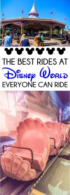Best Disney World Rides for All Ages The ultimate guide to rides at Walt Disney World for all ages including kids, parents, and even grandparents!The ultimate guide to rides at Walt Disney World for all ages including kids, parents, and even grandparents! Disney World Resorts, Walt Disney World Rides, Disney World Tipps, Disney World Tips And Tricks, Disney Vacations, Disney Tips, Disney 2017, Disney Disney, Disney Magic