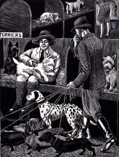 "Tirzah Garwood, ""The Dog Show"" (1930)"