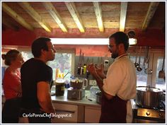 during my cooking course at Villa la Lodola, in Tuscany