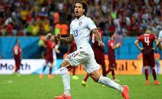 Mundial 2014. Estados Unidos 2-2 Portugal.