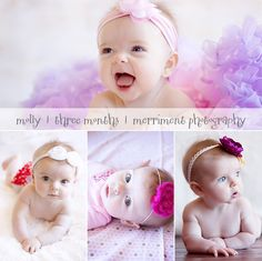 3 month picture ideas!