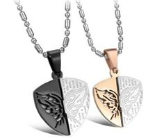 1000 images about couple necklaces on pinterest couple for Couples matching jewelry sets
