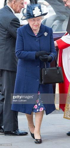 Queen Elizabeth II attends the VE Day 70th Anniversary sevice at Westminster…