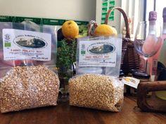 Farina, farro e orzo... disponibili nei nostri spacci agricoli!